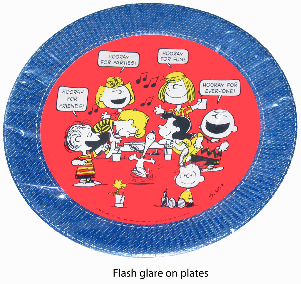 Peanuts Party Luncheon / Dessert Plates