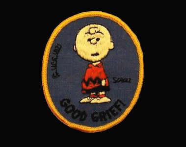 Peanuts Butternut Bread Promo Patch - Charlie Brown