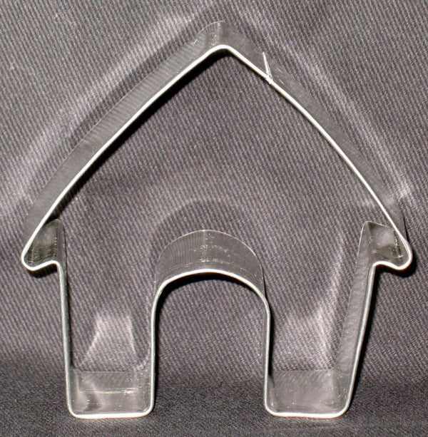 Doghouse Metal Cookie Cutter
