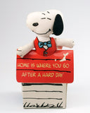 Snoopy In Doghouse Pillow Doll