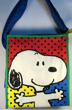 Snoopy Diaper Bag / Bottle Bag