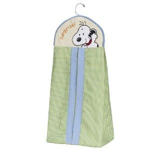 Lambs & Ivy Peek A Boo Snoopy Diaper Stacker