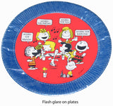 Peanuts Gang Party Dinner Plates