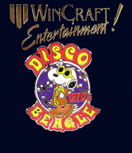 Disco Beagle Pin - 1970's