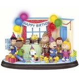 Danbury Mint Peanuts Lighted Birthday Party Sculpture