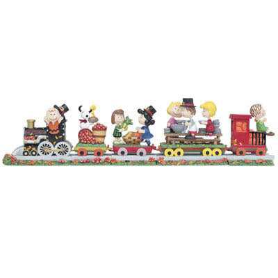 Danbury Mint Peanuts Thanksgiving Train
