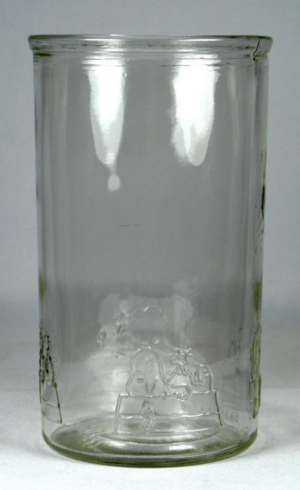 Smucker's Drinking Glass - Snoopy's Doghouse