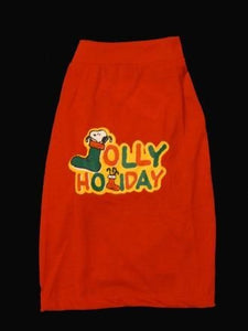 Jolly Holiday Dog Shirt