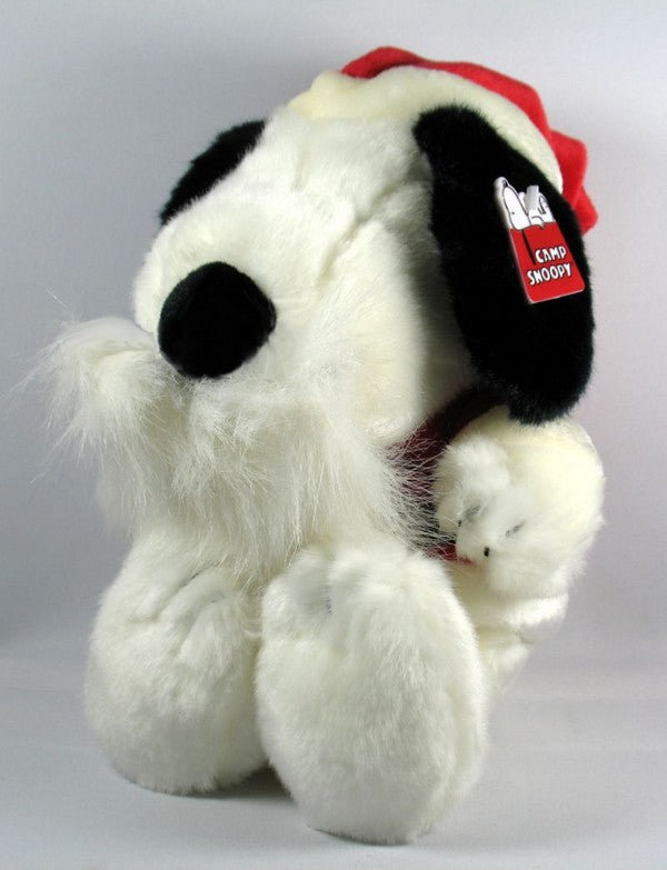 Snoopy Santa Plush Doll With Removable Beard