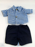 Shirt and Shorts Set for Doll