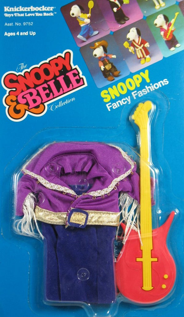 Snoopy Rubber Doll Clothing - Rock Star