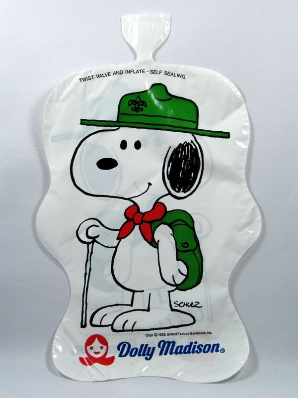 Dolly Madison Self-Sealing Balloon - Snoopy Beaglescout