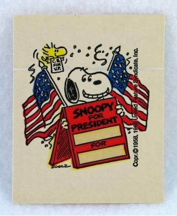 Dolly Madison Personalized Election Sticker  - REDUCED PRICE!