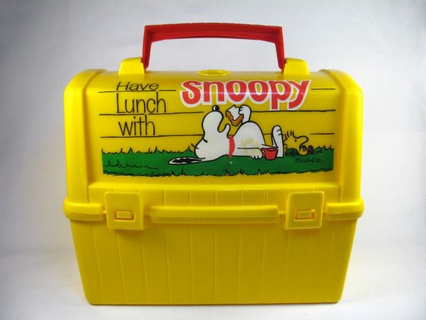 Snoopy's Doghouse Dome Lunch Box