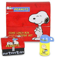 Peanuts Gang Dome Lunch Box Salt and Pepper Set