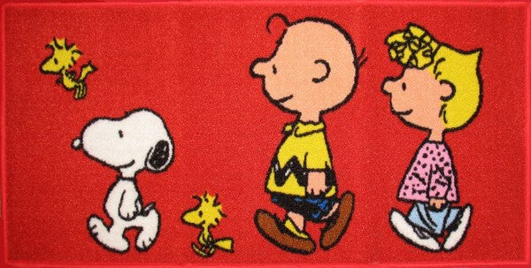 Peanuts Gang Indoor-Outdoor Rug / Door Mat