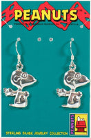 Flying Ace Sterling Silver Earrings