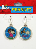 Charlie Brown and Lucy Football Earrings