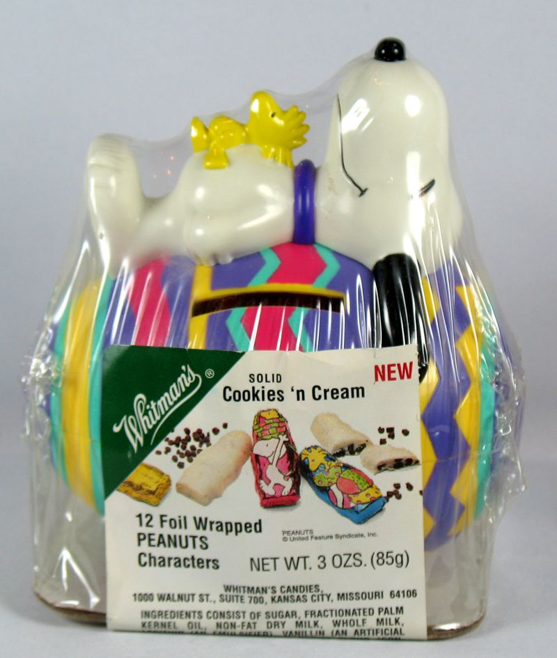 Snoopy and Woodstock Easter Egg Bank