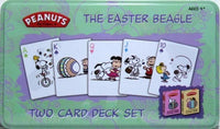 Easter Beagle Playing Cards Decks in Collectible Tin