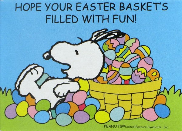 Snoopy Easter Mini Jigsaw Puzzle