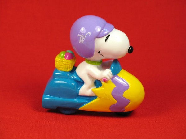 MOTORCYCLE SNOOPY EASTER PVC