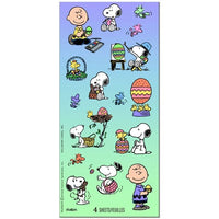 Peanuts Gang Easter Glitter Stickers