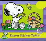 Snoopy Easter Sticker Tablet - Over 300 Stickers!