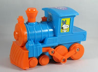 Snoopy Candy-Filled Musical Toy Easter Train - Blue