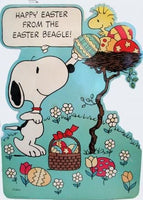 Laminated Giant Wall Decor - Easter Beagle