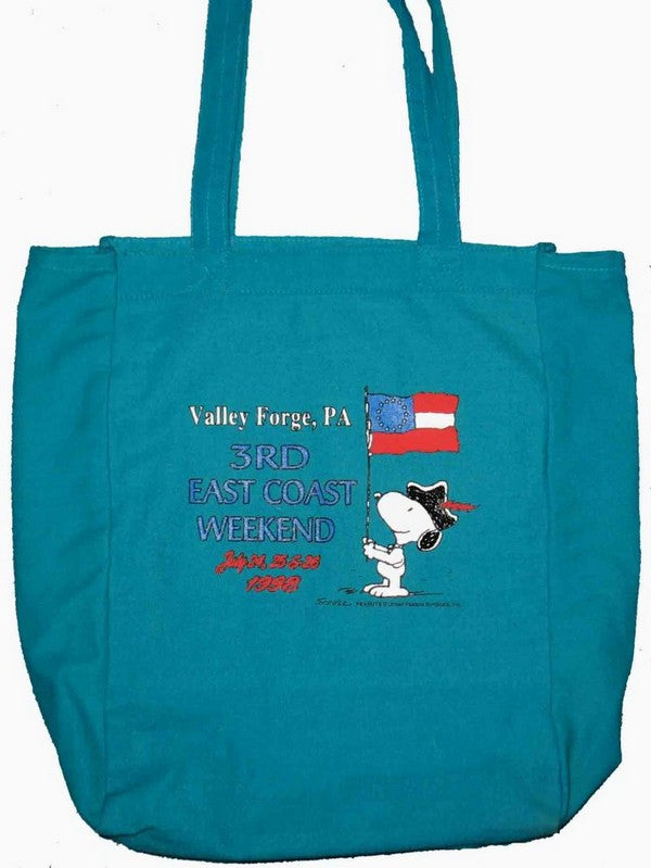 East Coast Collectors Tote Bag - Valley Forge PA (July 1998)