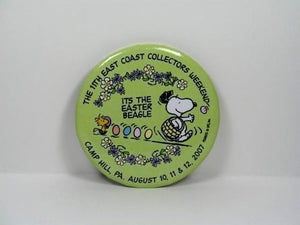 2007 EAST COAST COLLECTOR'S PINBACK BUTTON - LOW PRICE!