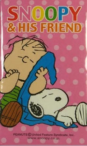 Mini Envelope and Sticker Set - Snoopy and His Friend Linus