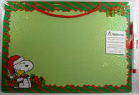 Hanging Dry Erase Board With Marker - Christmas