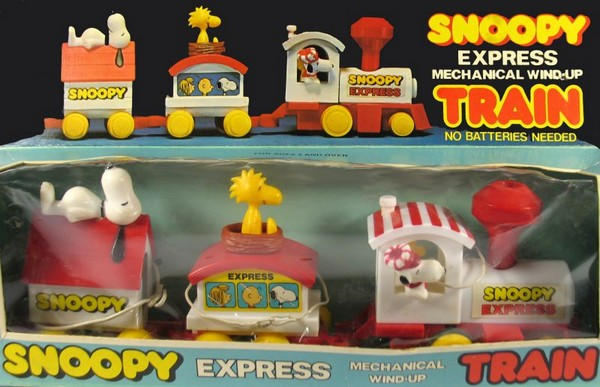 Snoopy Express Train Set