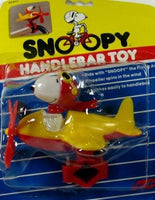 Snoopy Airplane Handlebar Toy