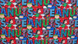 "Peanuts Heavyweight Fabric - Christmas (33"" x 36"")"