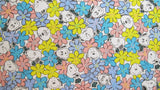 "Peanuts Heavyweight Fabric - Daisy Hill Puppies (40"" x 40"")"
