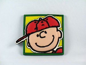 Big Face 2-D Magnet - Charlie Brown