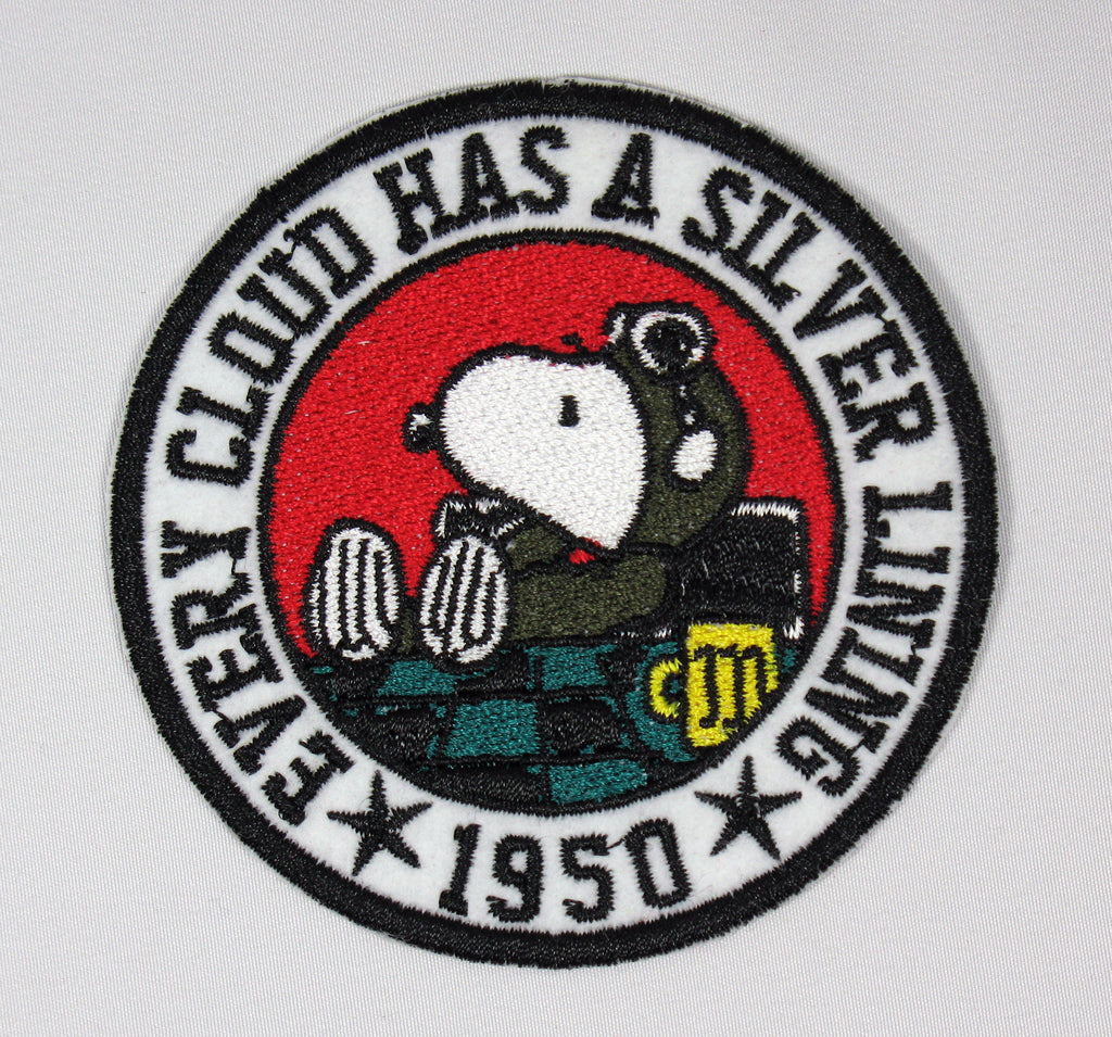 FLYING ACE PATCH - 1950 SILVER LINING