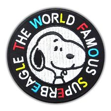 SNOOPY WORLD FAMOUS BEAGLE PATCH
