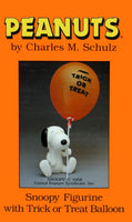 Snoopy Figurine With Trick Or Treat Balloon