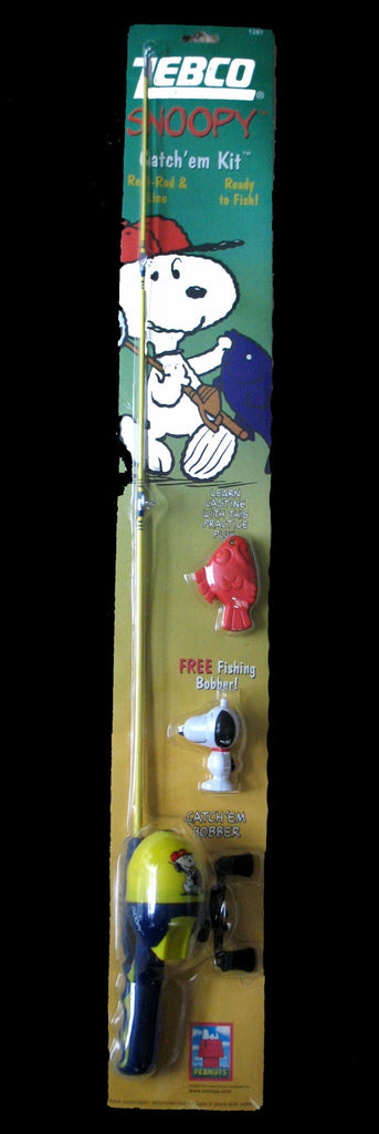 Snoopy Catch 'Em Kit Fishing Rod (*ROD ONLY - Lightly Used)