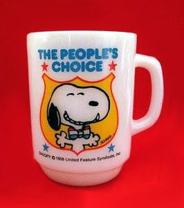 "Fire King Mug: ""The People's Choice"""