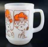 Fire King Mug:  Snoopy's Treats
