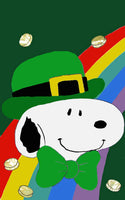 SNOOPY ST. PATRICK'S DAY Flag