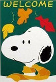 WELCOME FALL SNOOPY Flag