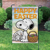 Peanuts Double-Sided Flag - Happy Easter