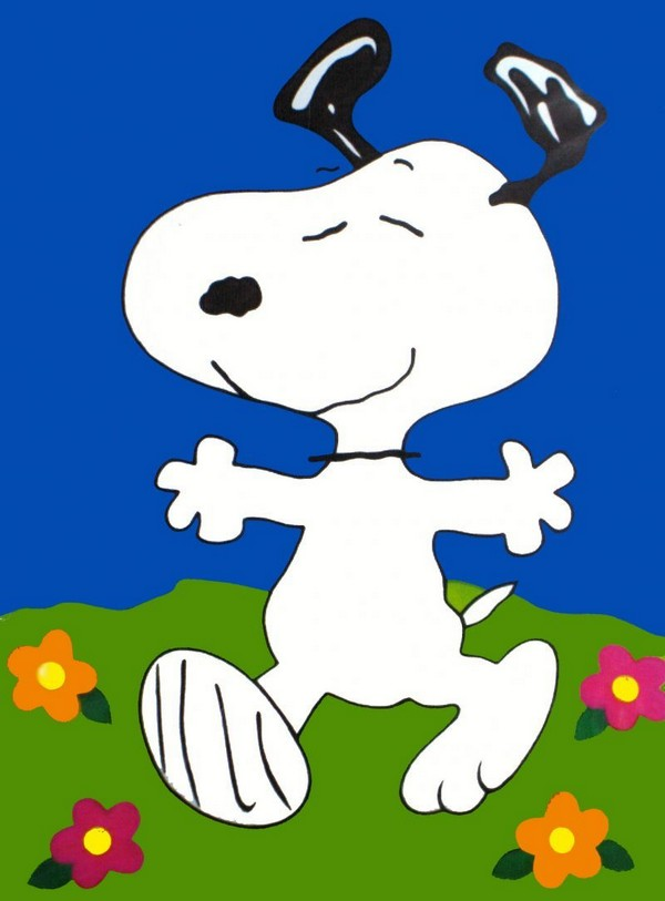 DANCING SNOOPY Flag