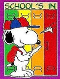 SCHOOL'S IN SNOOPY Flag